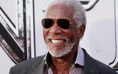 Noche de cine y glamour: Morgan Freeman ama a México y a su comida