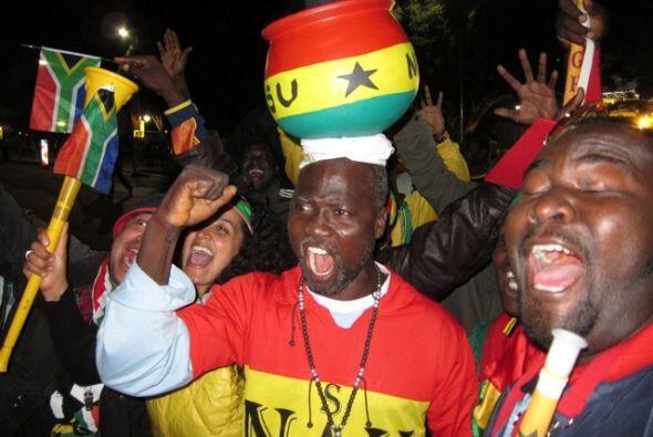 Los sudafricanos están apelando a todas sus tradiciones para apoy...