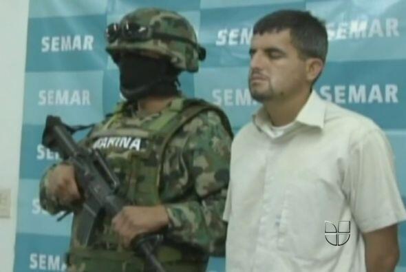 """27 de julio. Autoridades presentaron a Mauricio Guizar Cárdenas, alias """"..."""