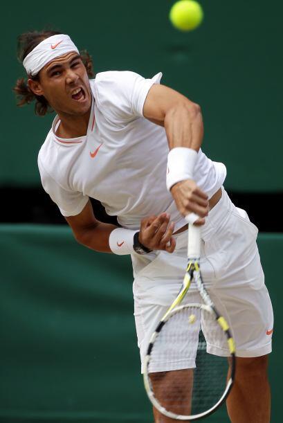 Nadal deseaba ligar 14 triunfos de 2008 a la fecha en Wimbledon. En 2009...