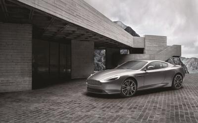La firma británica presentó el Aston Martin DB9 GT Bond Ed...