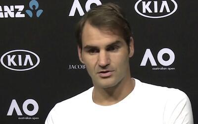 """Roger Federer: """"Para mí es una sorpresa estar en semifinales"""""""