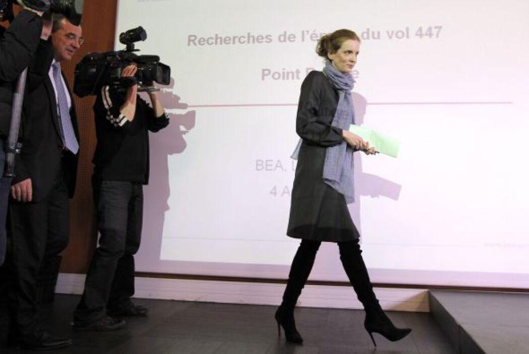 Las autoridades francesas detallaron que esperan encontar las cajas negr...