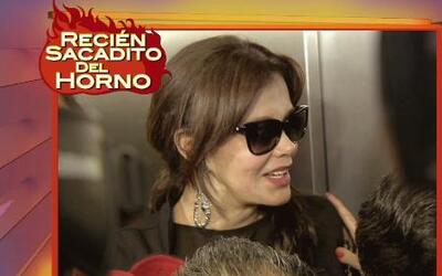 Lucía Mendez dijo que es la mejor actriz de Europa