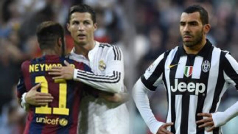 Neymar, Cristiano y Tévez celebran cumpleaños el 5 de febrero.