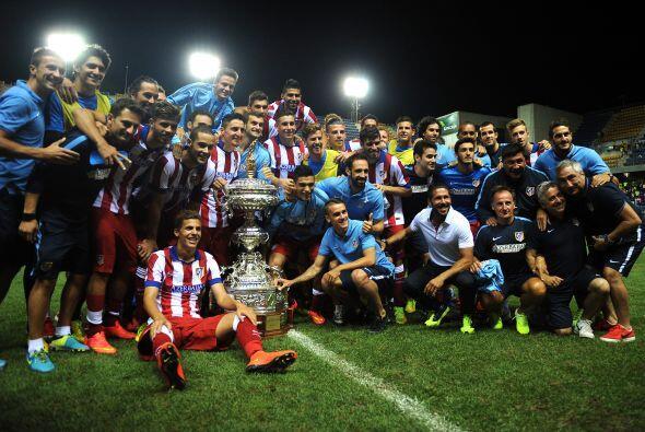 EL Atlético de Madrid derrotó 2-0 a la Sampdoria en la final del trofeo...
