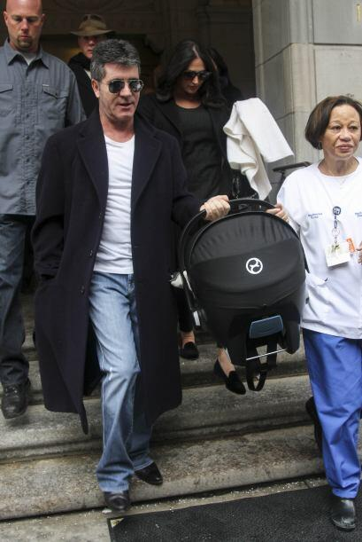 Simon y Lauren ya salieron del hospital en el Hospital Lenox Hill en Nue...