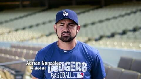 Adrián González sabe la importante que es trabajar en equipo, juntos par...