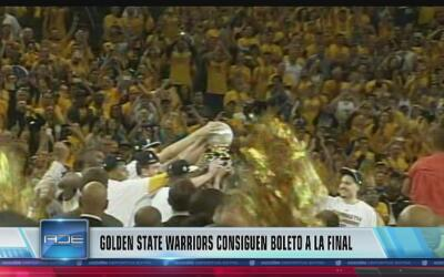 Los Warriors ganan pase a la final