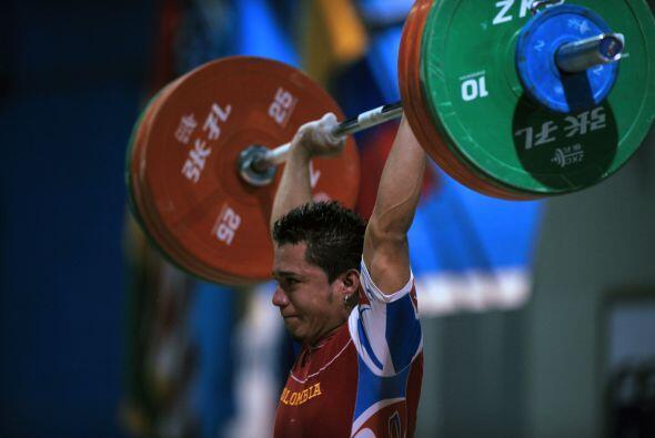 El colombiano Carlos Berna se colgó dos medallas doradas en la categoría...