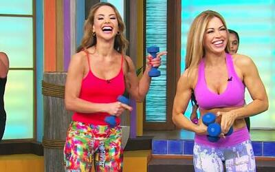 Claudia Molina y Ximena Córdoba listas para el bikini