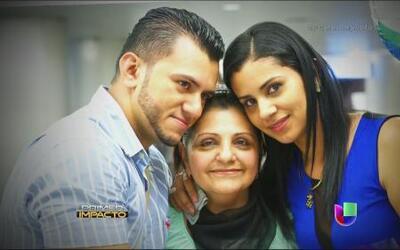 Conmovedor reencuentro para una madre enferma de cáncer