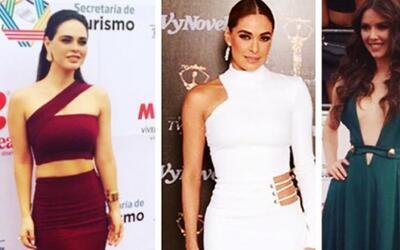 Ellas fueron las favoritas en la alfombra magenta de los Premios TVyNovelas