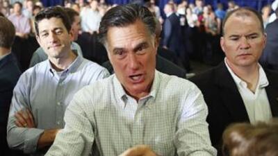 El rechazo de Mitt Romney a la reforma migratoria y al Dream Act, le pas...