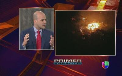 ¿Qué tan peligrosos son los gases producidos por la explosión de Texas?