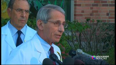 Médicos dicen que enfermera con ébola se mantiene estable