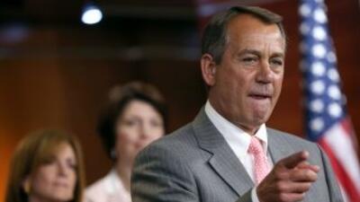 El Presidente del Congreso, John Boehner (Ohio).