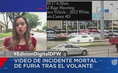 Autoridades de Richardson dan a conocer imágenes del accidente mortal en...