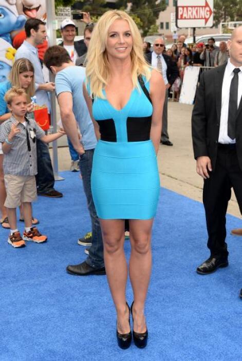 ¡Aplausos para Britney Spears! La cantante cada vez luce un delicioso cu...