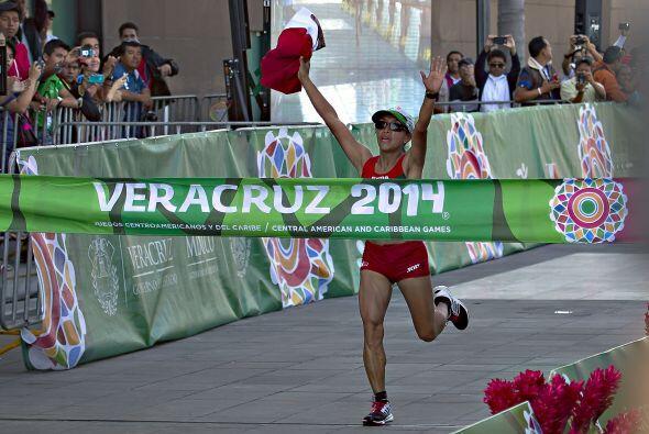 Con el tiempo que registró Margarita Hernández en la marat...