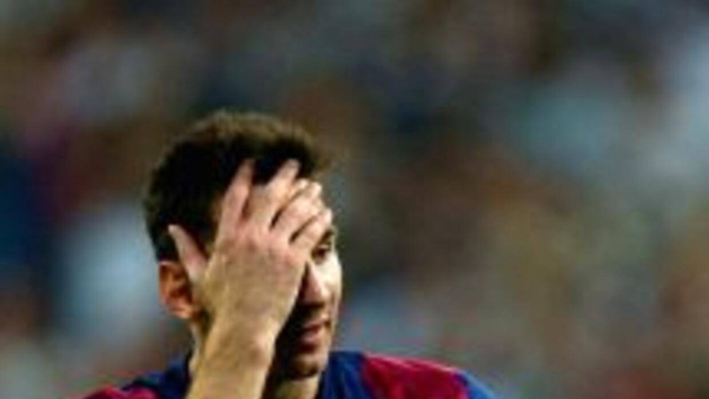 Lionel Messi estuvo intermitente.