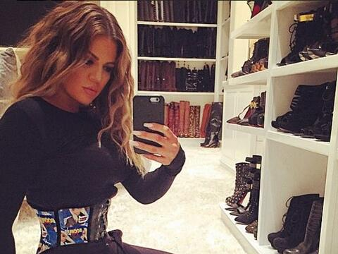 Khloé Kardashian impactó las redes sociales con la diminut...