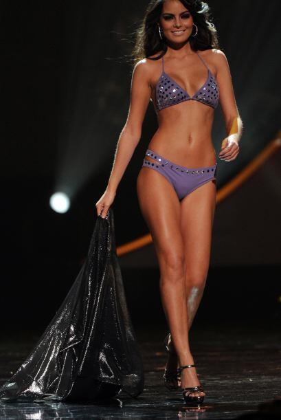 En su pasarela en bikini para ganar Miss Universo nos dejó con la boca a...