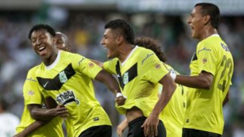 Atlético Nacional ganó el torneo Finalización tras vencer 2-0 al Deporti...
