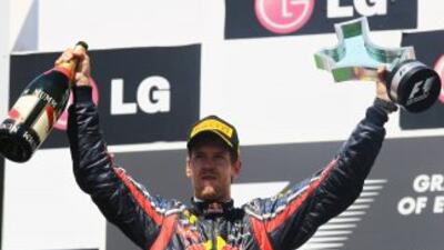 Vettel ganó el Gp de Europa en Valencia