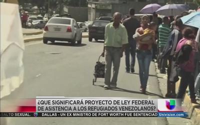 Proyecto de ley beneficiaría a venezolanos