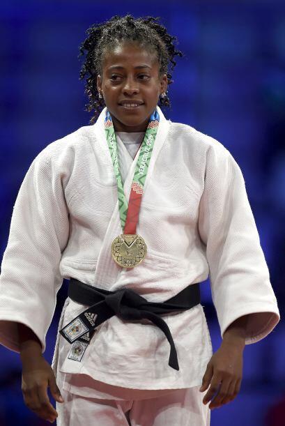 La judoca cubana María Laborde se subió a lo más alto del podio en los 4...