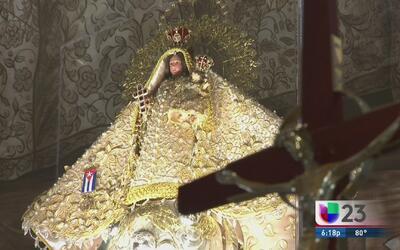 Llegará a Miami imágen de la Virgen que le regalaron al papa Francisco