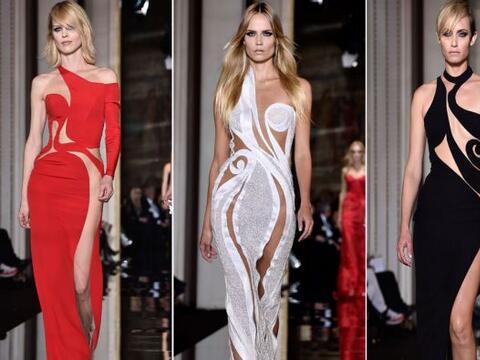 Atelier Versace presentó un desfile de Alta Costura en Par&iacute...