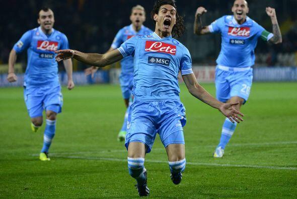 Cavani apareció en el minuto 84 para darle la ventaja a su club sobre el...