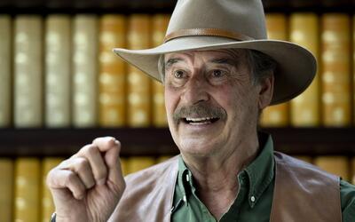 """Vicente Fox: """"Trump no es bienvenido en México"""""""