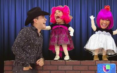 Vulgarcita y Fresita contagiaron a El Bebeto con su buen humor