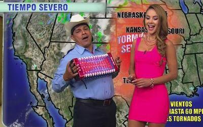 Entérate del weather y baila con Ximena Córdoba