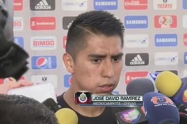 """José David Ramírez: """"Quiero un puesto para jugar en la Liga"""""""