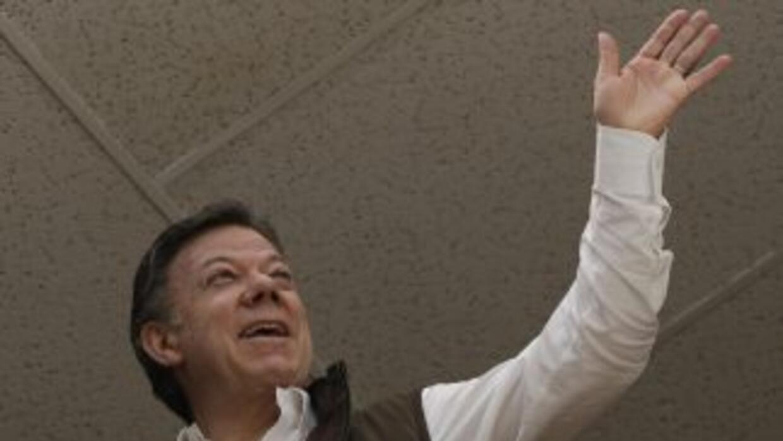 Juan Manuel Santos, presidente de Colombia, ha superado en sus primeras...