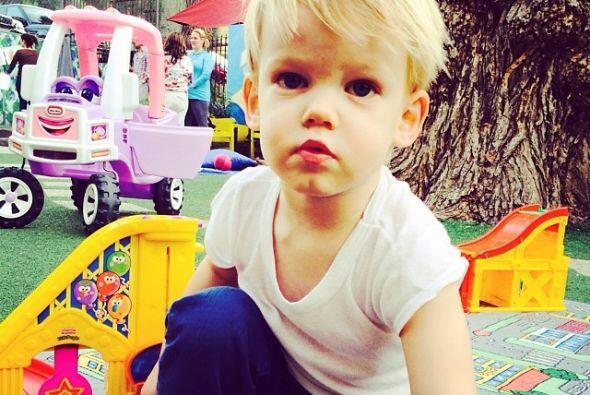 Este hermoso bebé se llama Lucas y es el hijo de Hilary Duff. Mira aquí...