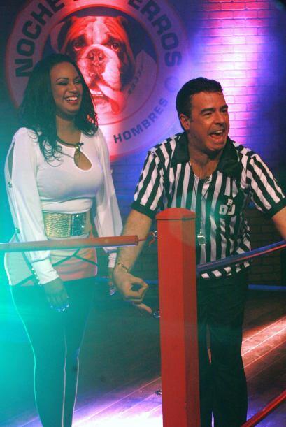 Pero lo único que le causó a la presentadora fue risa pues...