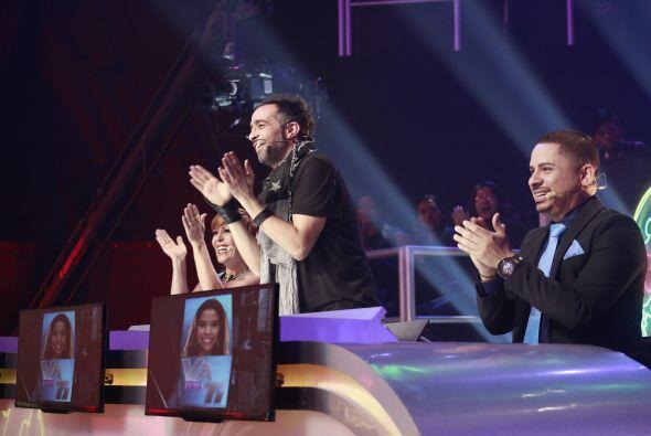 ¡También los jueces aplaudieron la ronda!
