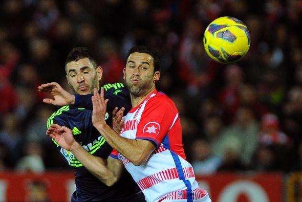 El Granada jugó con valentía y tuvo algunos acercamientos al área contra...