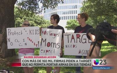 No quieren armas en tiendas 'Target'