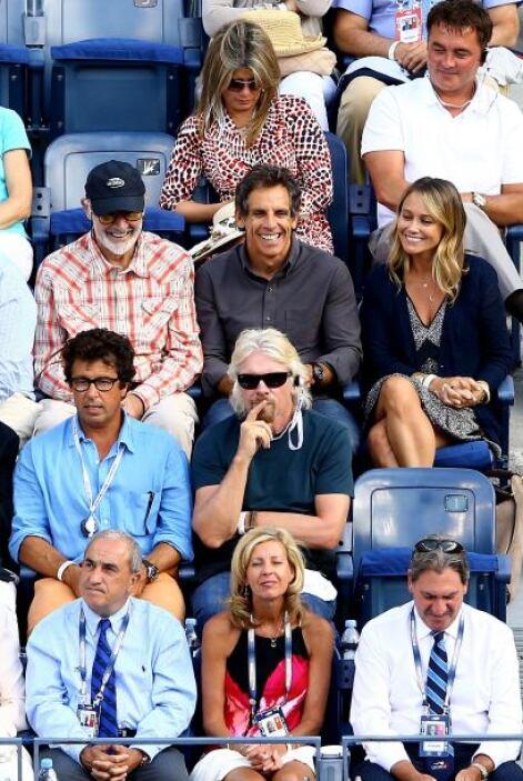 Sean Connery, Ben Stiller y su esposa, Christine Taylor.Mira aquí lo últ...