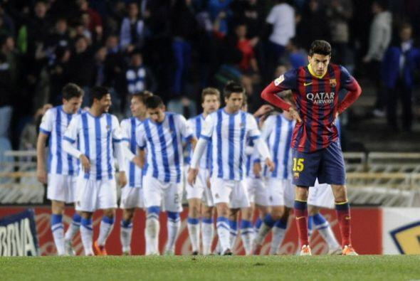 El primer gol de la Real llegó en una confusión y Song la metió en propi...