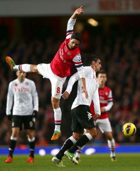 Arsenal volvió a tropezar el empatar en casa con el Fulham.