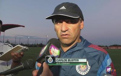 """Carlos Bustos: """"Daremos un gran juego a la afición"""""""