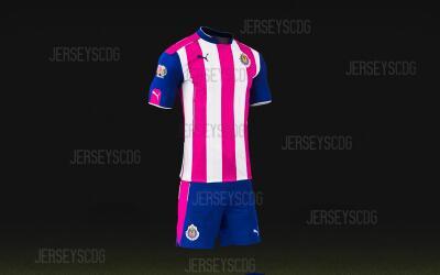 Chivas jugarán ante Morelia con un uniforme rosa.