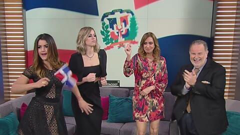 Clarissa Molina bailó y celebró la independencia de la República Dominic...